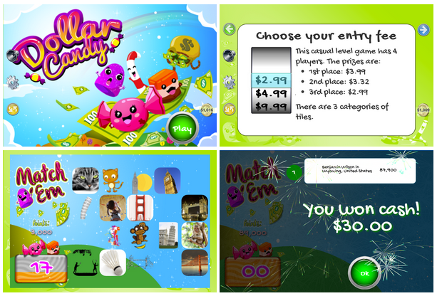 Best apps to use to win real money – Dollar Candy Game